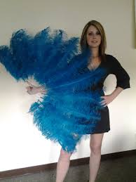 burlesque feather fans value quality burlesque ostrich feather fan layer 50 x 25