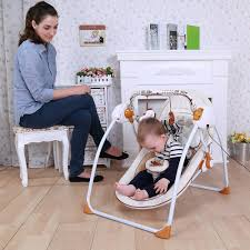 Baby Automatic Rocking Chair Online Get Cheap Cradle Baby Swings Aliexpress Com Alibaba Group