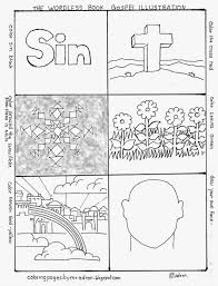 wordless book illustration kids color