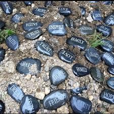 awesome memorial garden rocks garden memorial stones personalized