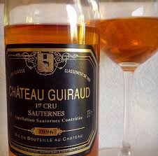 sauternes magic château guiraud bordeaux weekly wine journal