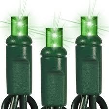 green led string lights 25 ft string light green wire 50 green led bulbs