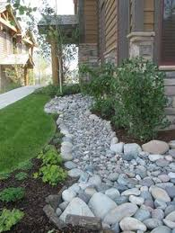 River Rock Landscaping Ideas with Landscaping With River Rock U0026 Dry River Rock Garden Ideas River