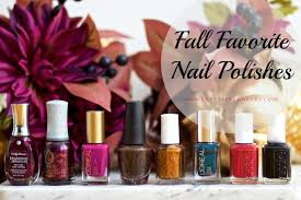 my fall favorite nail polishes the style contour