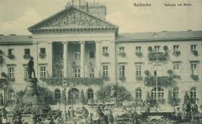 Karlsruhe Baden Baden Karlsruhe Baden Württemberg Rathaus Mit Marktplatz Zeno Org