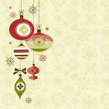 retro christmas ornaments royalty free cliparts vectors and