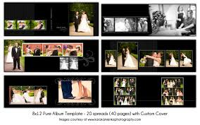 wedding album templates 8x12 digital wedding album template 20 spread 40
