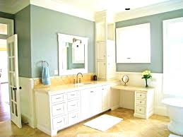 Bathroom Vanity Backsplash Ideas Bathroom Vanity Makeover With Latex Paint Painting Bathroom