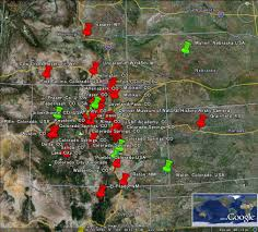Map Of Colorado Springs Co by The Latest Worldwide Meteor Meteorite News Colorado Nebraska