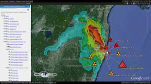 Fukushima Radiation Map Ten Most Radioactive Places On Earth Mapped Out Graphic
