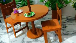 How To Build Dining Room Chairs How To Make A Popsicle Stick Chair For Doll Miniature Crafts Diy