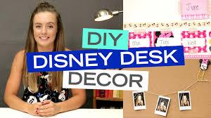 Desk Decor Ideas by Diy Disney Desk Decor Ideas With Breezylynn Youtube