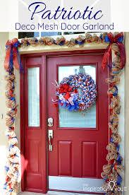 garland door u0026 wreaths rose artificial flower garland wall mounted