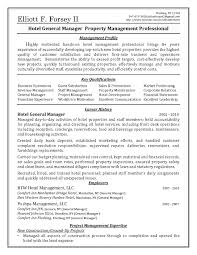 Best Project Manager Resume Best Ideas Of Hotel General Manager Resume Cover Letter About