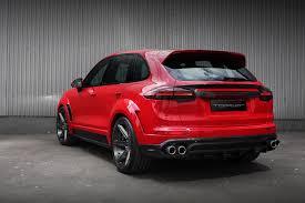 Custom Porsche Cayenne - porsche cayenne topcar gt 958 2 red gts modcarmag