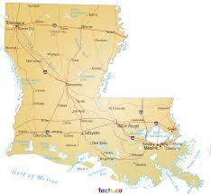 Lake Charles Louisiana Map by Louisiana Map Blank Political Louisiana Map With Cities