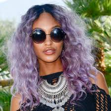 purple rinse hair dye for dark hair relaxer how to dye relaxed hair teen vogue