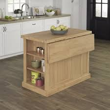 nantucket natural butcher block top kitchen island homestyles
