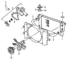 radiator for 2002 dodge ram 1500 parts com dodge ram 1500 radiator oem parts