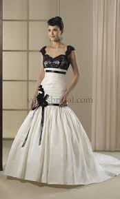 black and white wedding dress black wedding dresses preowned wedding dresses