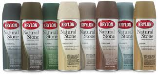 krylon natural stone spray paint blick art materials