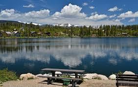 columbine lake near grand lake colorado grand county colorado