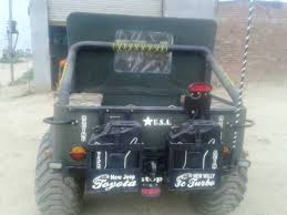 landi jeep modified willys jeep turned into a 6x6 in india