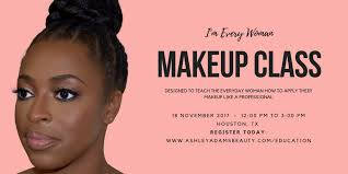 make up classes in houston i m every woman makeup class tickets sat dec 2 2017 at 12 00 pm