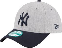 yankees hats dick s sporting goods product image new era men s new york yankees 9forty grey adjustable hat
