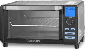 Cuisinart Toaster 4 Slice Cuisinart Tob 100bw Compact Digital Toaster Oven Broiler Black