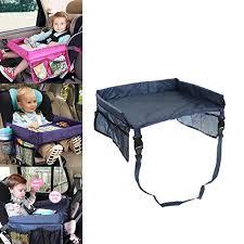 tablette de voyage pour siege auto plateau de voyage waterproof pliable pour enfant a manger jouer