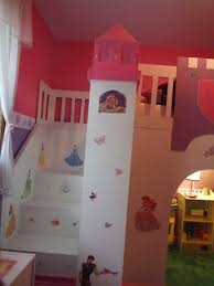 Free Loft Bed Plans With Slide by Ana White Princess Play Loft Bed Diy Projects
