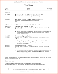 resume templates business administration cv example business graduate image collections certificate