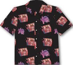 schizoid hawaiian aloha shirt inner knot store