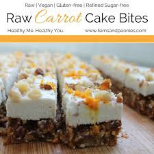 raw carrot cake bites u2014 ferns u0026 peonies