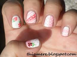 on beauty stuff and what else u0027s bff challenge girly nail art