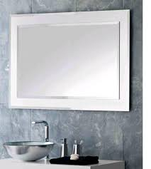diy bathroom mirror frame ideas stainless steel faucets under wall