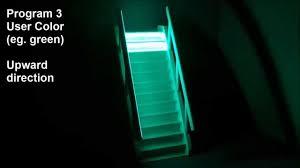 Stair Lighting by Stairs Lighting Rgb Illumination Controller Stx 1793 Youtube