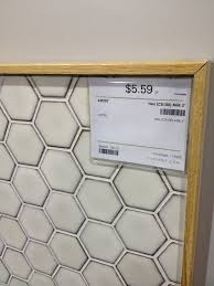 hexagon tile in