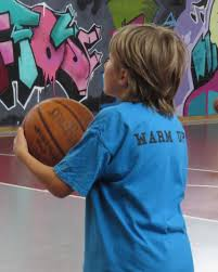 warm up t shirt sida basketball