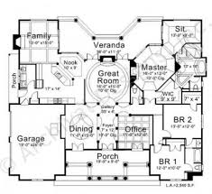 waterford place retirement house plan ranch floor plan