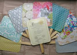Fan Programs For Weddings Goodness Recycled And Otherwise Wedding Program Fans Tutorial