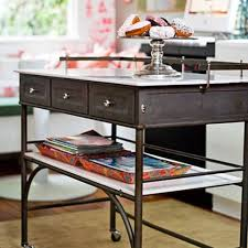 metal kitchen islands 64 unique kitchen island designs digsdigs