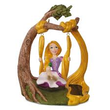 tangled rapunzel in the swing solar motion 2017 hallmark keepsake
