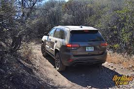jeep grand cherokee trailhawk off road time on the trail with the 2017 jeep grand cherokee trailhawk