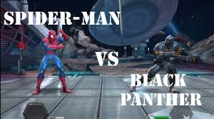 marvel contest champions spider man black panther quest