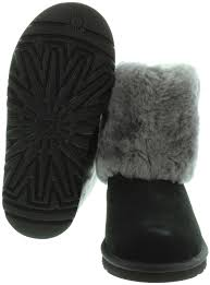 ugg sale gr e 38 ugg ellee fur top boots in black in black