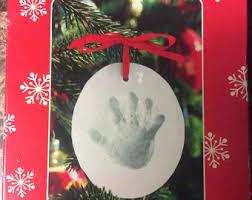 baby handprint kit etsy