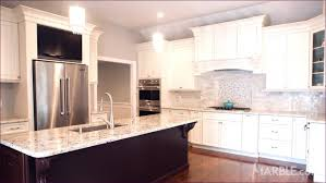kitchen room awesome white marble and glass backsplash marble