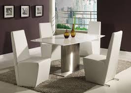 super modern white dining room table ideas howiezine